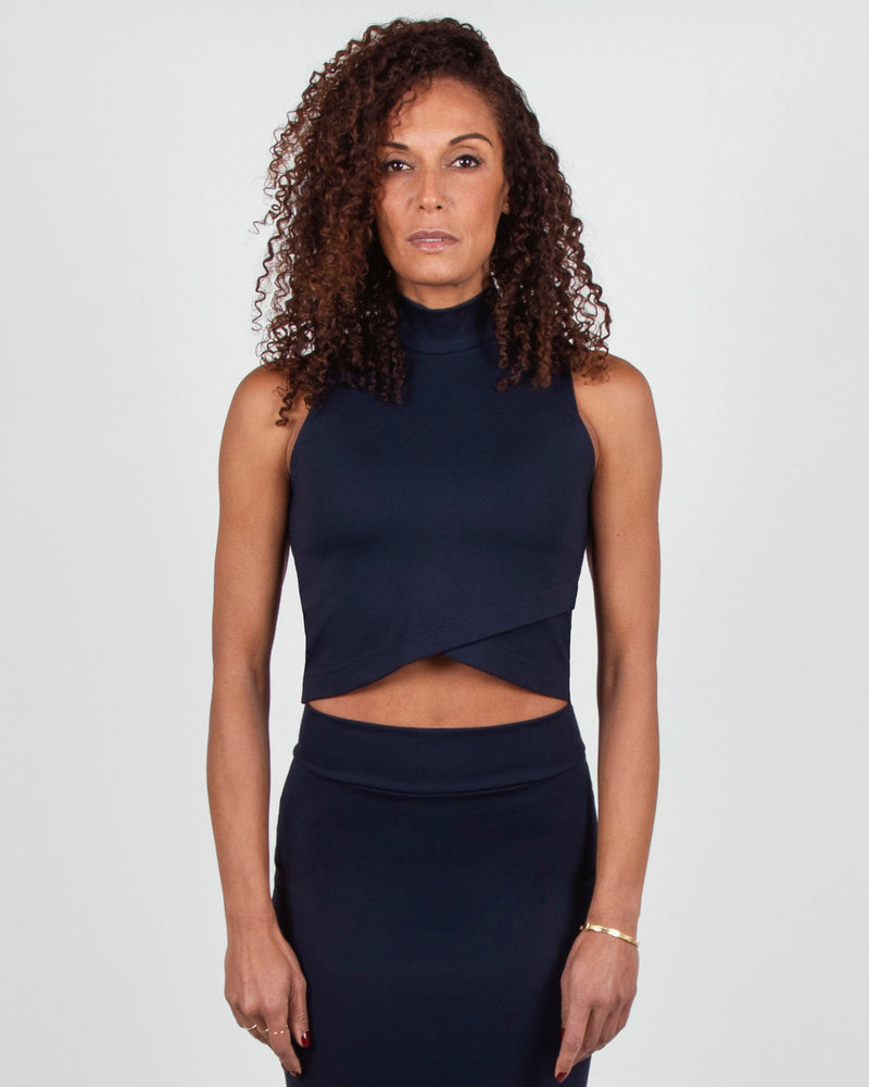 Plover Top 2-in-1 in Navy