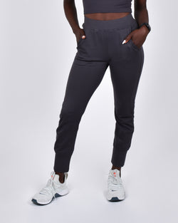 Mocking J Joggers in Pewter