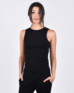 Sparrow Top in Black 2-in-1