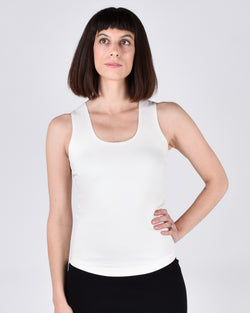 Sparrow Top in Cream 2-in-1
