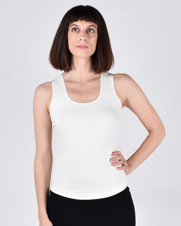 Sparrow Top in Cream 2-in-1 - PARIDAEZ