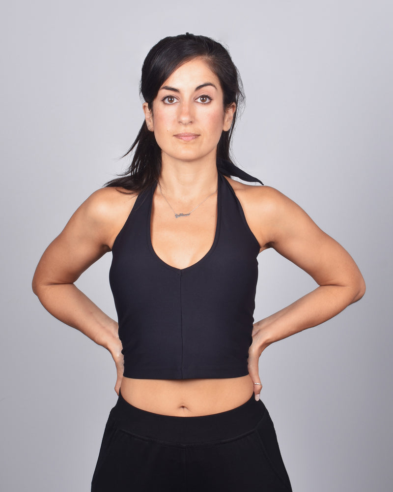 Starling Crop 2-in-1 in Black