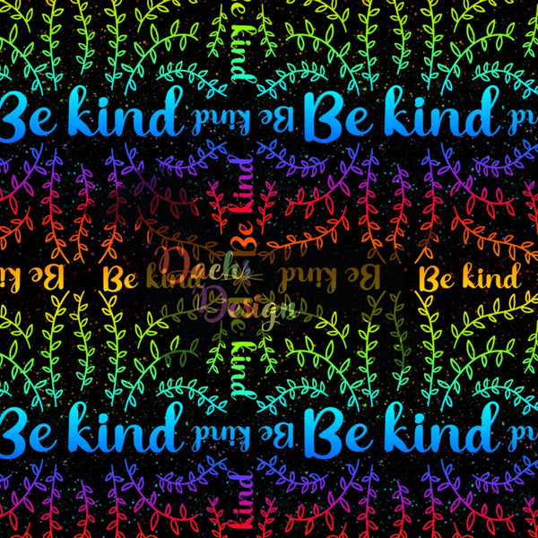 DachsDesign FULL EXCLUSIVE Be Kind Pattern