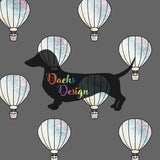 DachsDesign NON-EXCLUSIVE Hot Air Balloons Seamless Patterns
