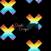 DachsDesign NON-EXCLUSIVE Crosses Seamless Patterns