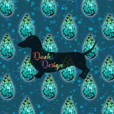 DachsDesign COLOURWAY EXCLUSIVE Raindrops Pattern