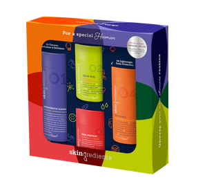 Core 4 + Cleanse Off Mitt Gift Set
