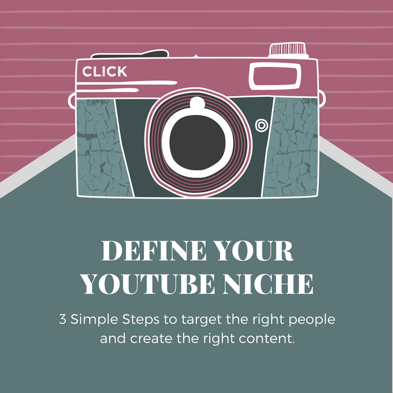 3 Step Process to Define Your YouTube Niche (DISCOUNTED)