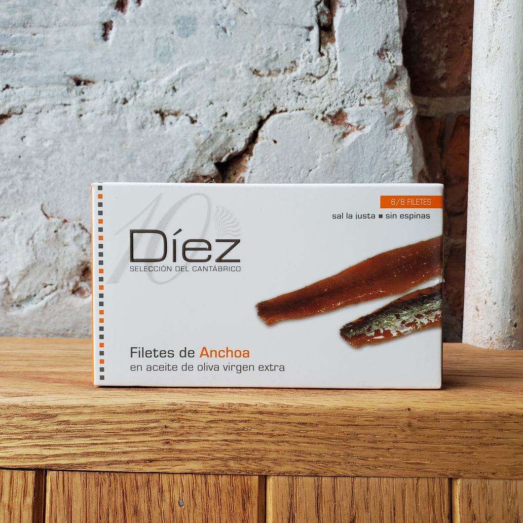Díez Don Bocarte Cantabrian Anchovies
