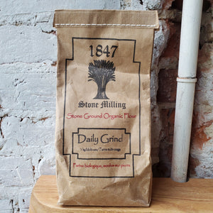 1847 Stone Milling Daily Grind Flour