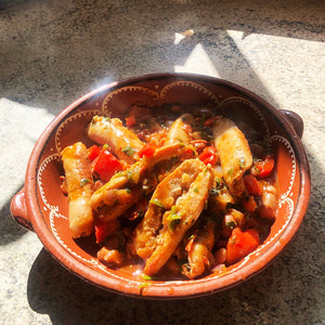 Sausage Cassoulet for Two