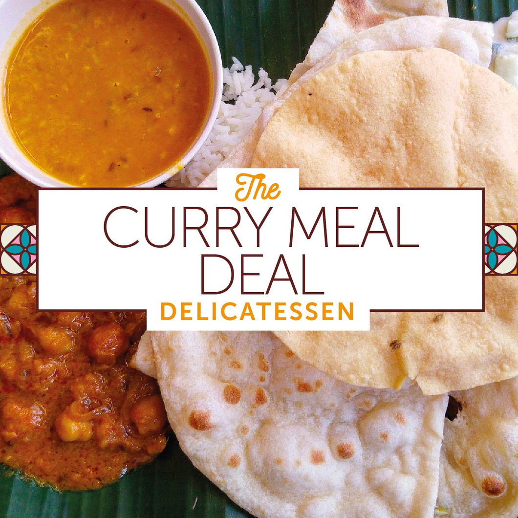 Curry Meal Deal for two