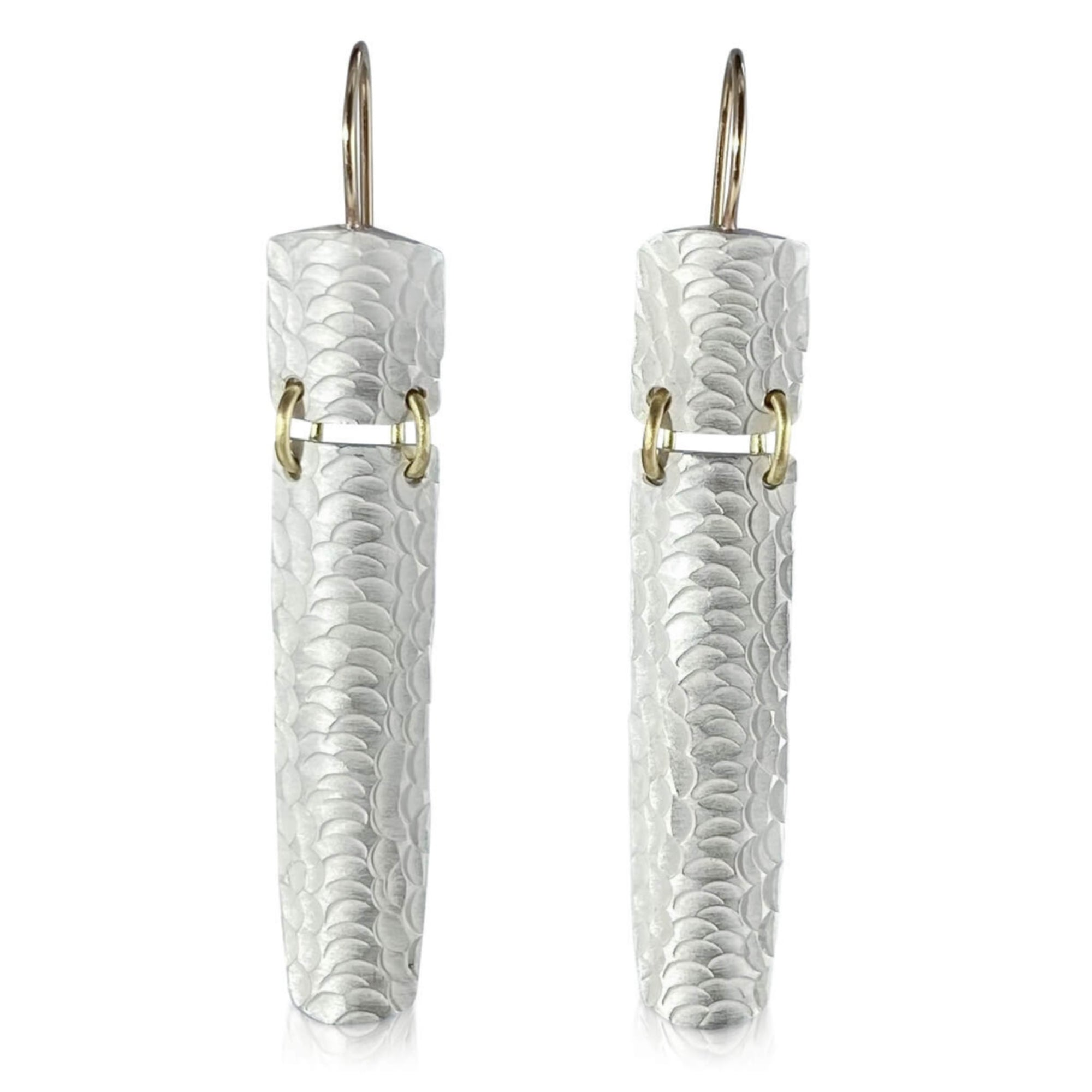 Split Textured Earrings