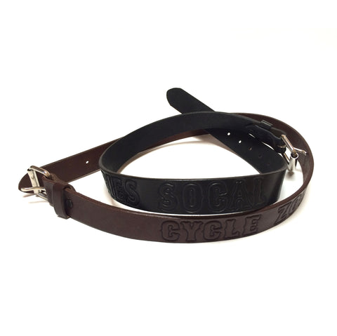 Goth Leather Belt