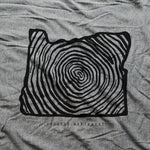 Load image into Gallery viewer, Oregon Tree Rings T-shirt