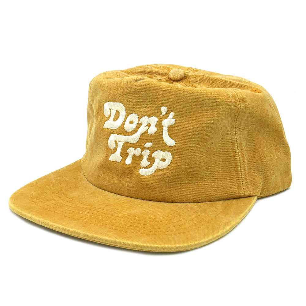 Don't Trip Washed Snapback Hat