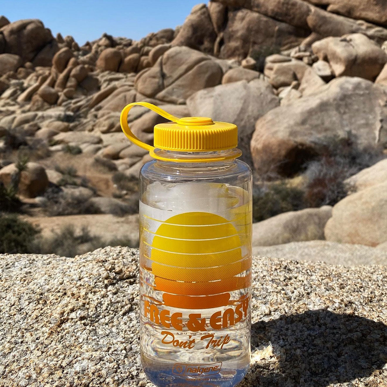 Setting Sun 32oz Wide Mouth Nalgene