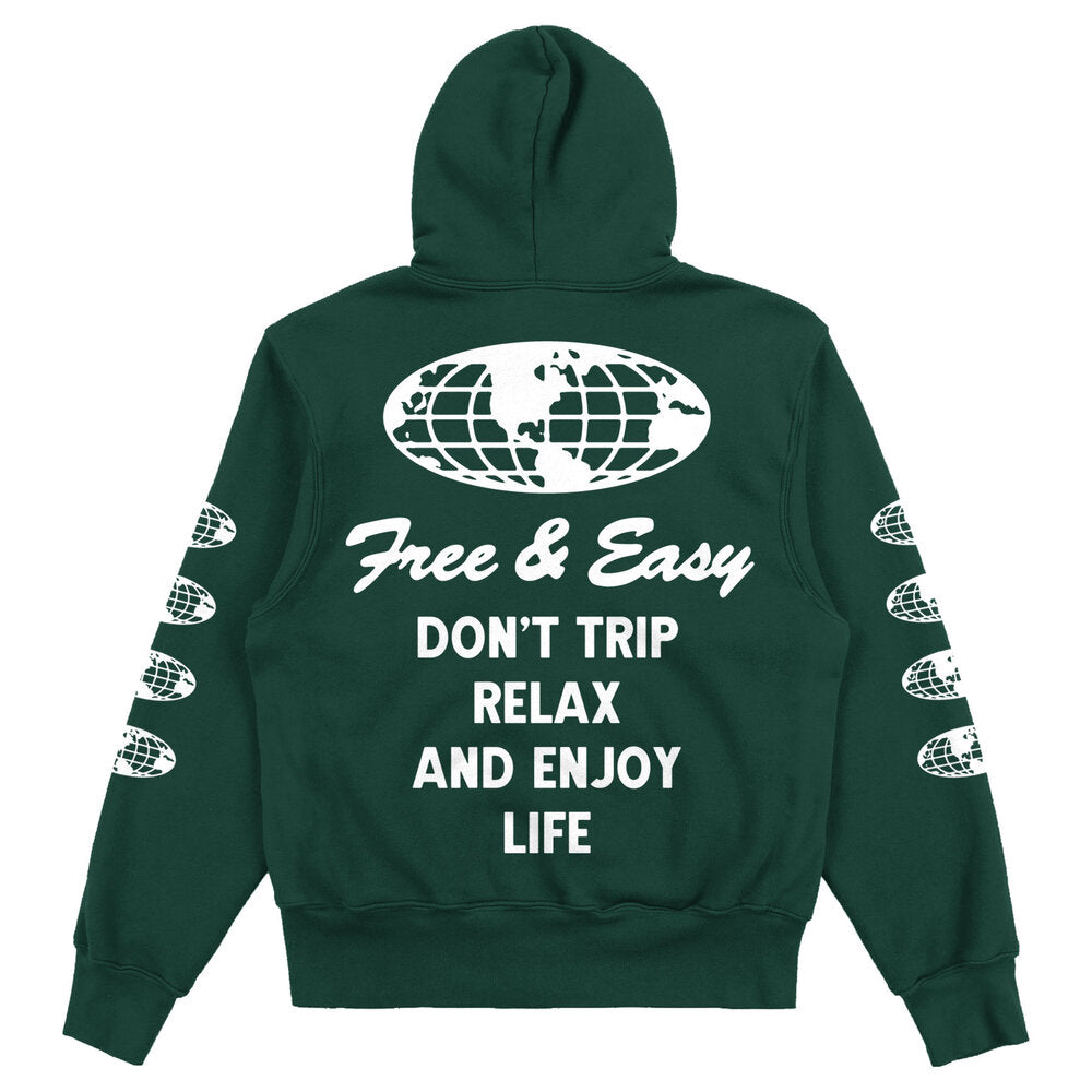 Worldwide Heavy Fleece Hoodie