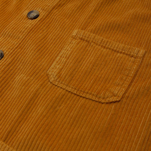 Cropped Fat Corduroy Chore Coat