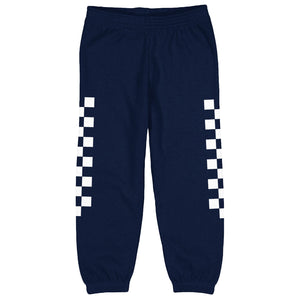 Checkered Yin Yang Kids Sweatpants