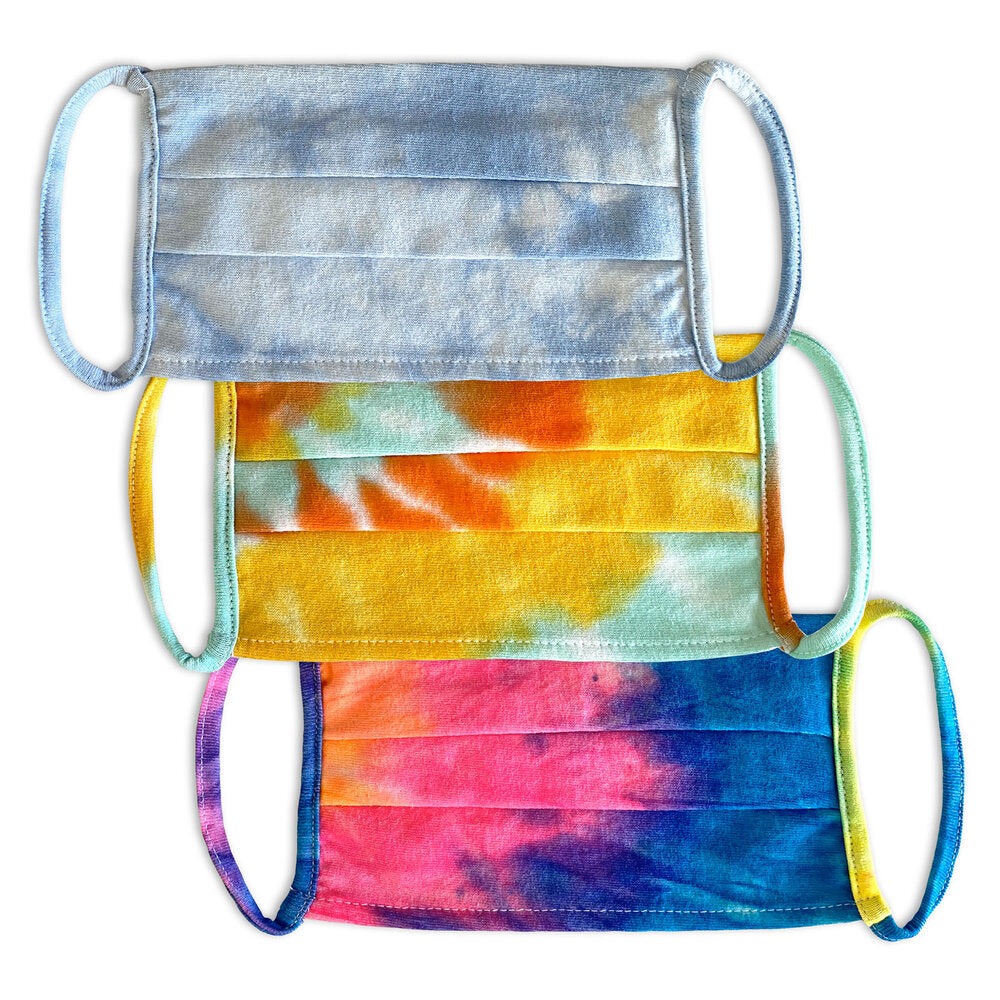 Tie Dye Face Masks (3 Pack)