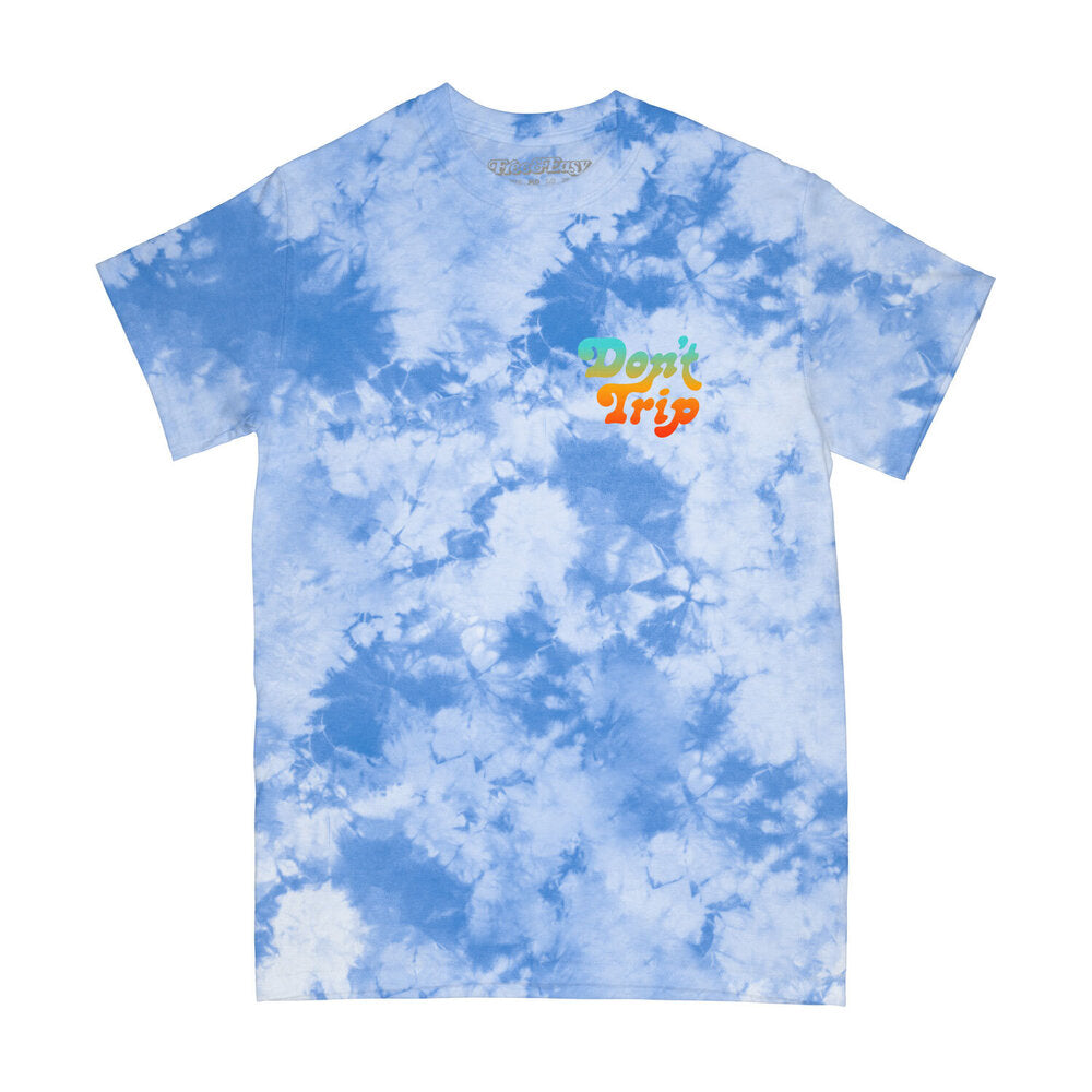 Stay Positive Tie Dye SS Tee