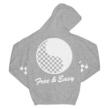 Load image into Gallery viewer, Checkered Yin Yang Hoodie