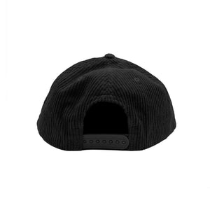 No Cap Fat Corduroy Snapback Hat