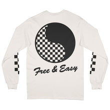 Load image into Gallery viewer, Checkered Yin Yang LS Tee