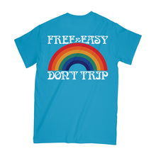 Load image into Gallery viewer, Don't Trip Rainbow SS Pocket Tee
