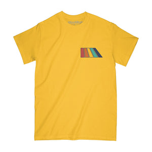 Natural Rainbow SS Tee