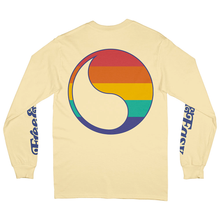 Load image into Gallery viewer, Rainbow Yin Yang LS Tee