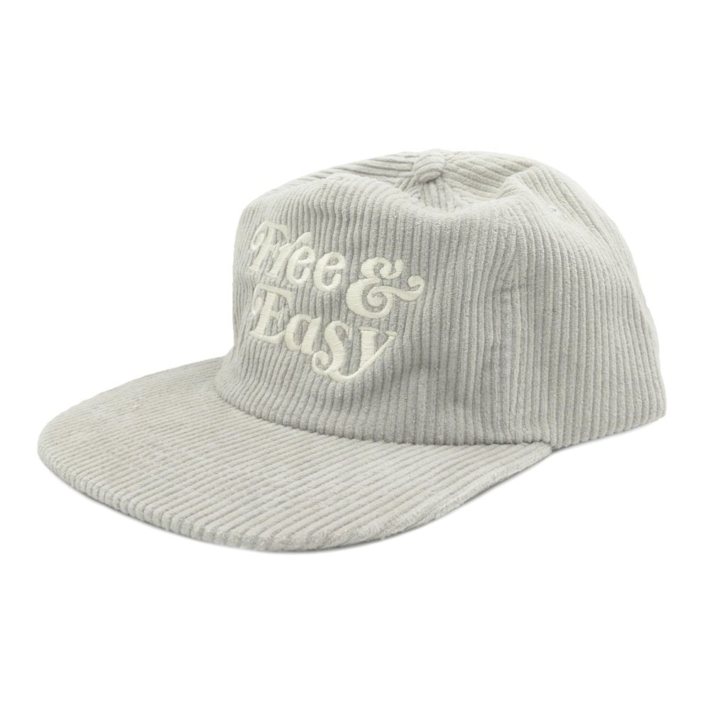 Free & Easy Fat Corduroy Snapback Hat
