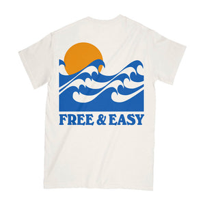 Rolling Waves SS Pocket Tee