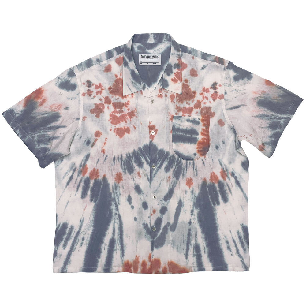 F&E x Tony Shirtmakers Tie Dye Camp Shirt