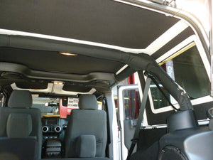 2007-2010 Jeep Wrangler JK (4 Door) - Hard Top Headliner Kit-Hothead Headliners