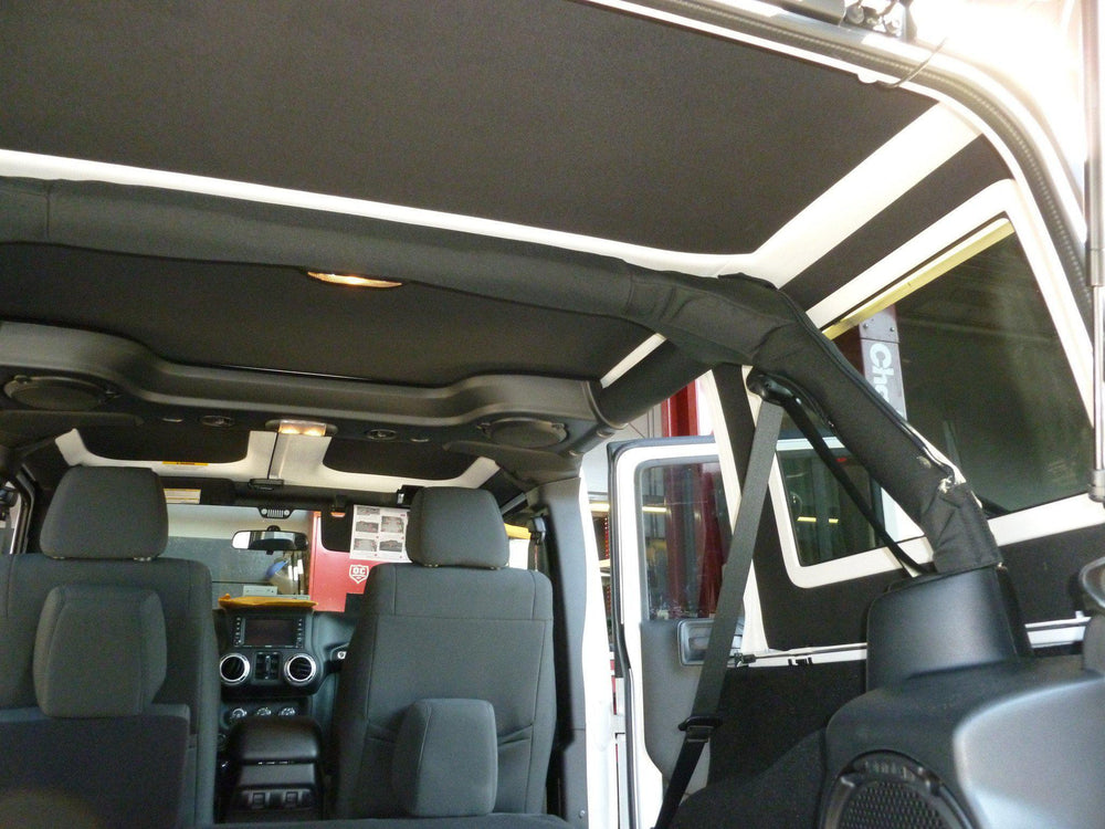 2011-2018 Jeep Wrangler JK (4 Door) - Hard Top Headliner Kit-Hothead Headliners