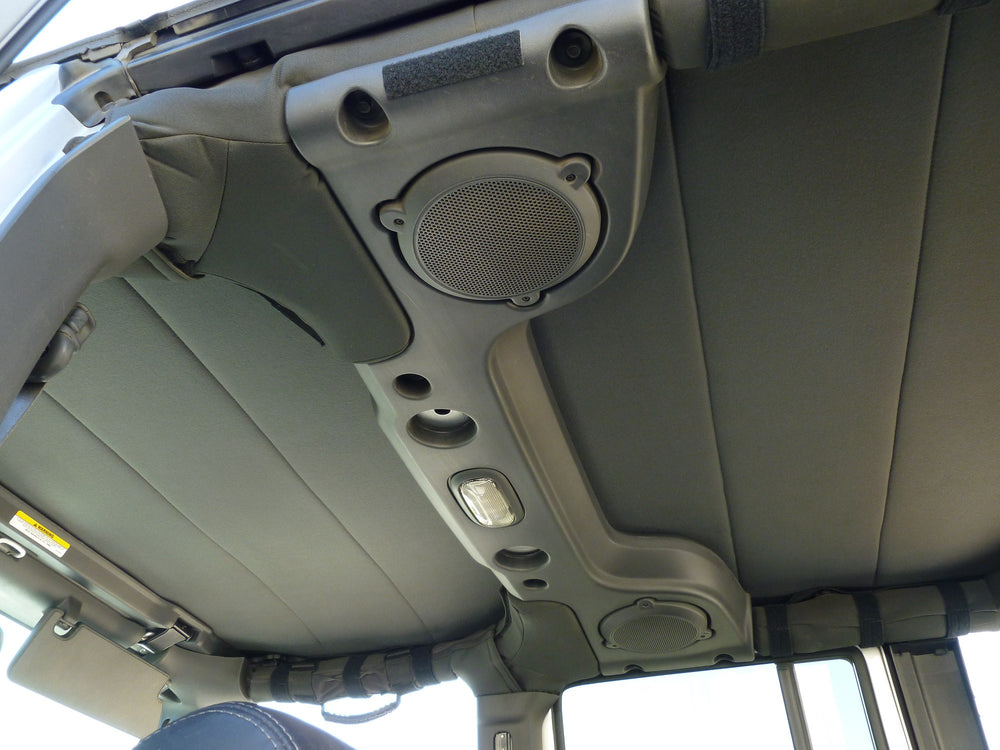 2007-2018 Jeep Wrangler JK (4 Door) - Soft Top Headliner