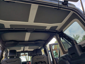 2018-2020 Jeep Wrangler JL (4 Door) - Hard Top Headliner Kit-Hothead Headliners