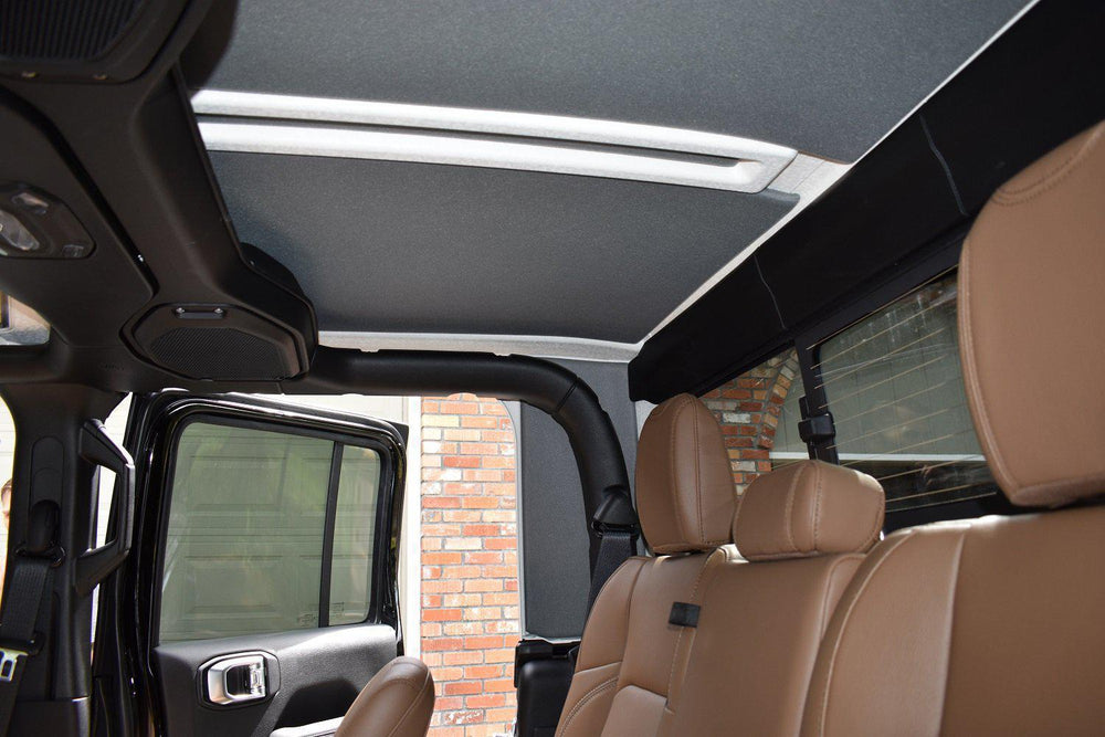 2020 Jeep Gladiator JT - Hard Top Headliner Kit-Headliners-Hothead Headliners- Please Select | Color -No don't add side panels-No don't add sound assassin strips-Hothead Headliners