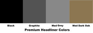 Jeep Headliner Premium Color Choices - Hothead Headliners