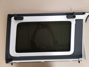 Jeep Wrangler Rear Side Window Panels