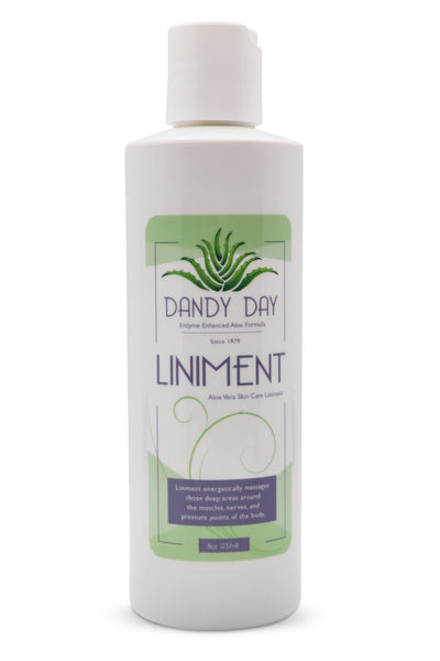 Front view for Dandy Day Liniment 8oz bottle