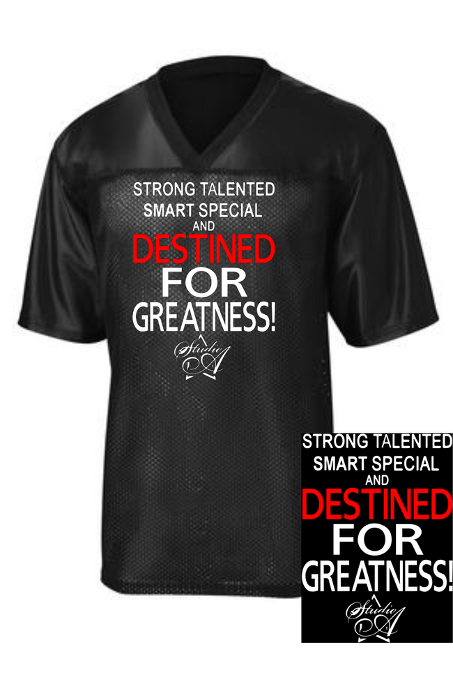 "Studio A ""Destined for Greatness"" Unisex Jersey"