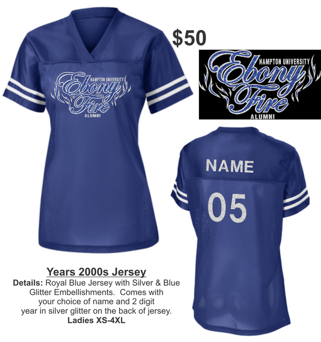 2019 EBONY FIRE HC REUNION PACKAGES- (JERSEY ONLY)