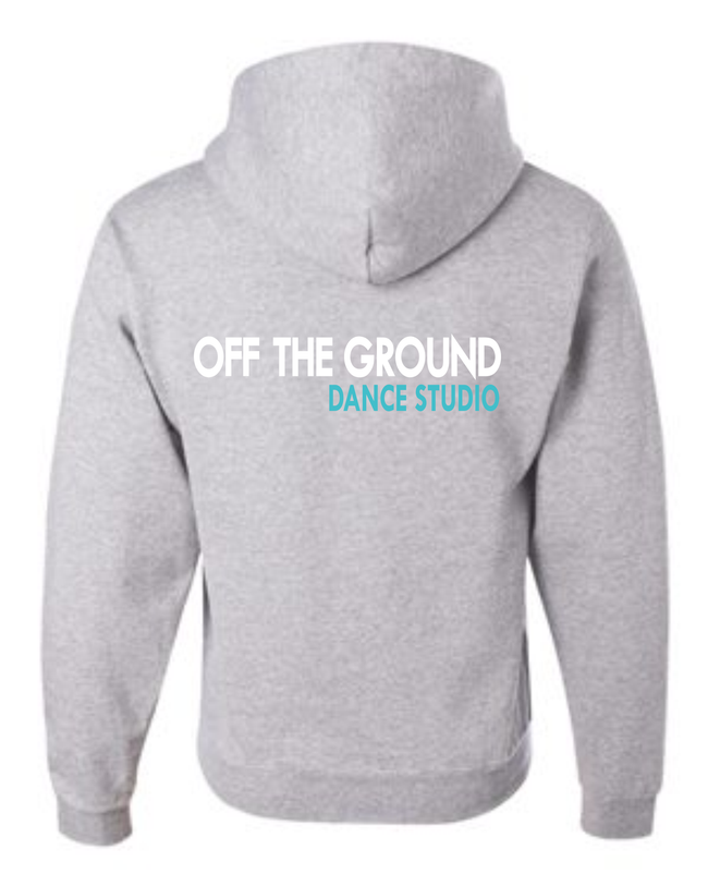 OTG SCREEN PRINT FULL ZIP HOODIE