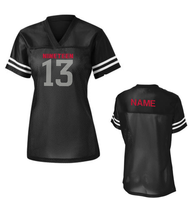 DST NINETEEN 13 BLING JERSEY