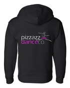 PIZZAZZ ZIPPED SWEATSHIRT