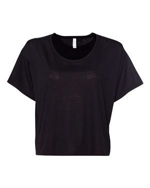 1 TRUE BLANKS-Bella + Canvas - Women's Flowy Boxy Tee - 8881 S-XL