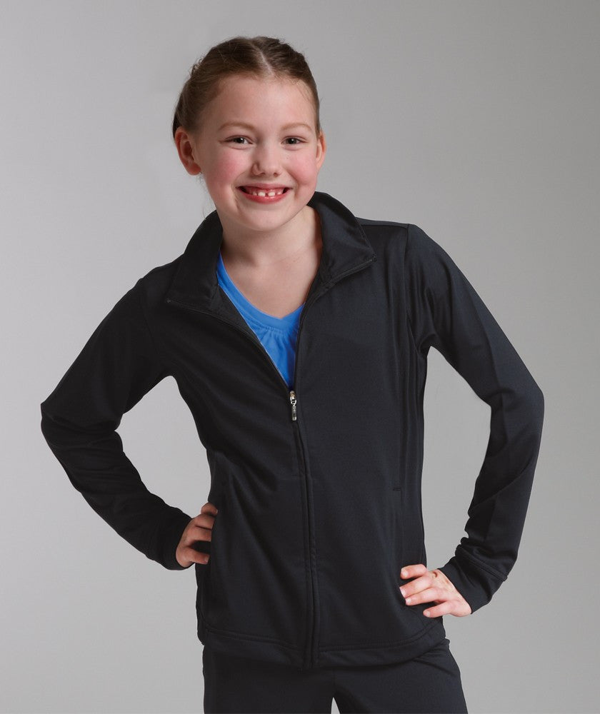 1-GIRLS FITNESS JACKET